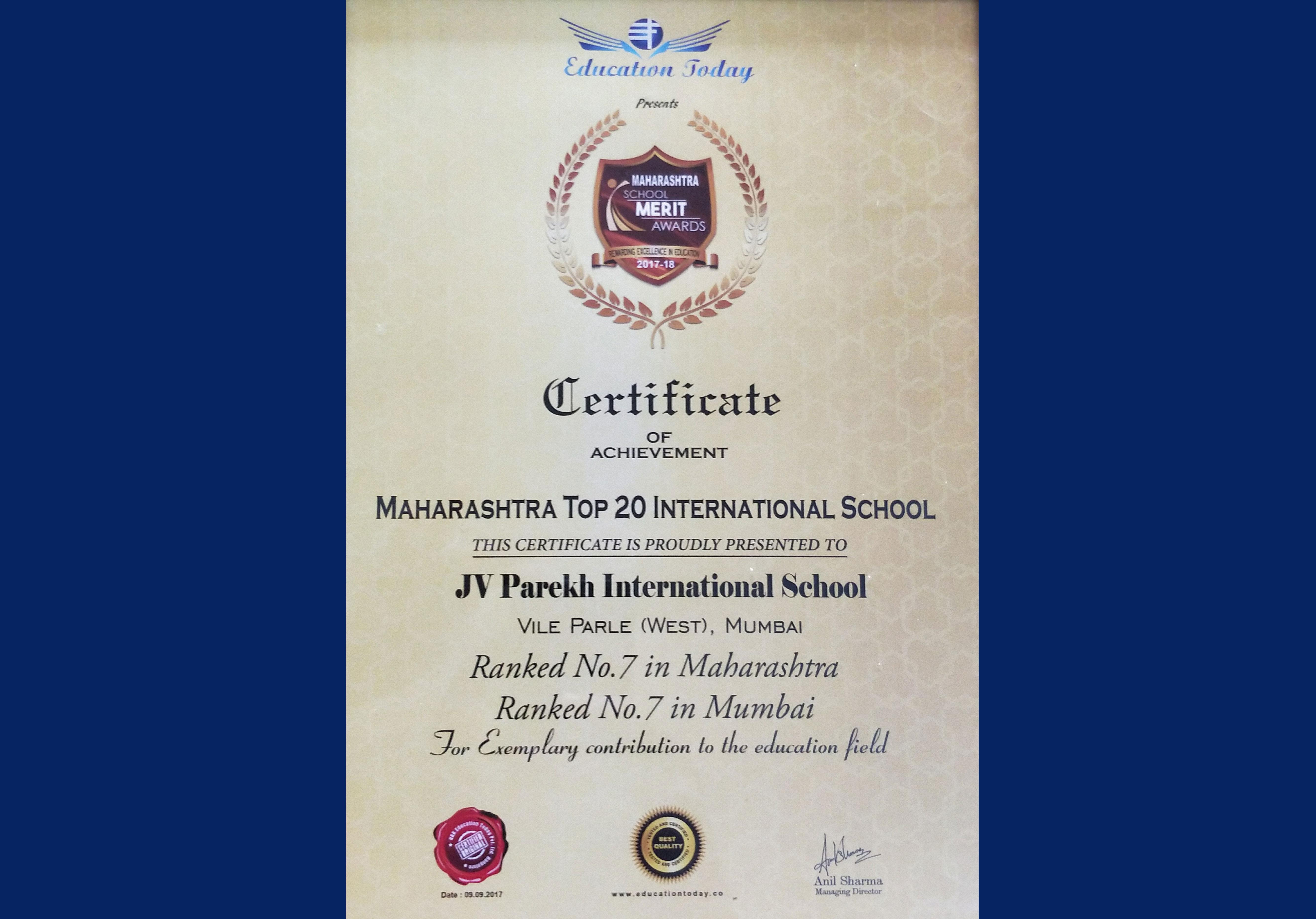 J V PAREKH INTERNATIONAL