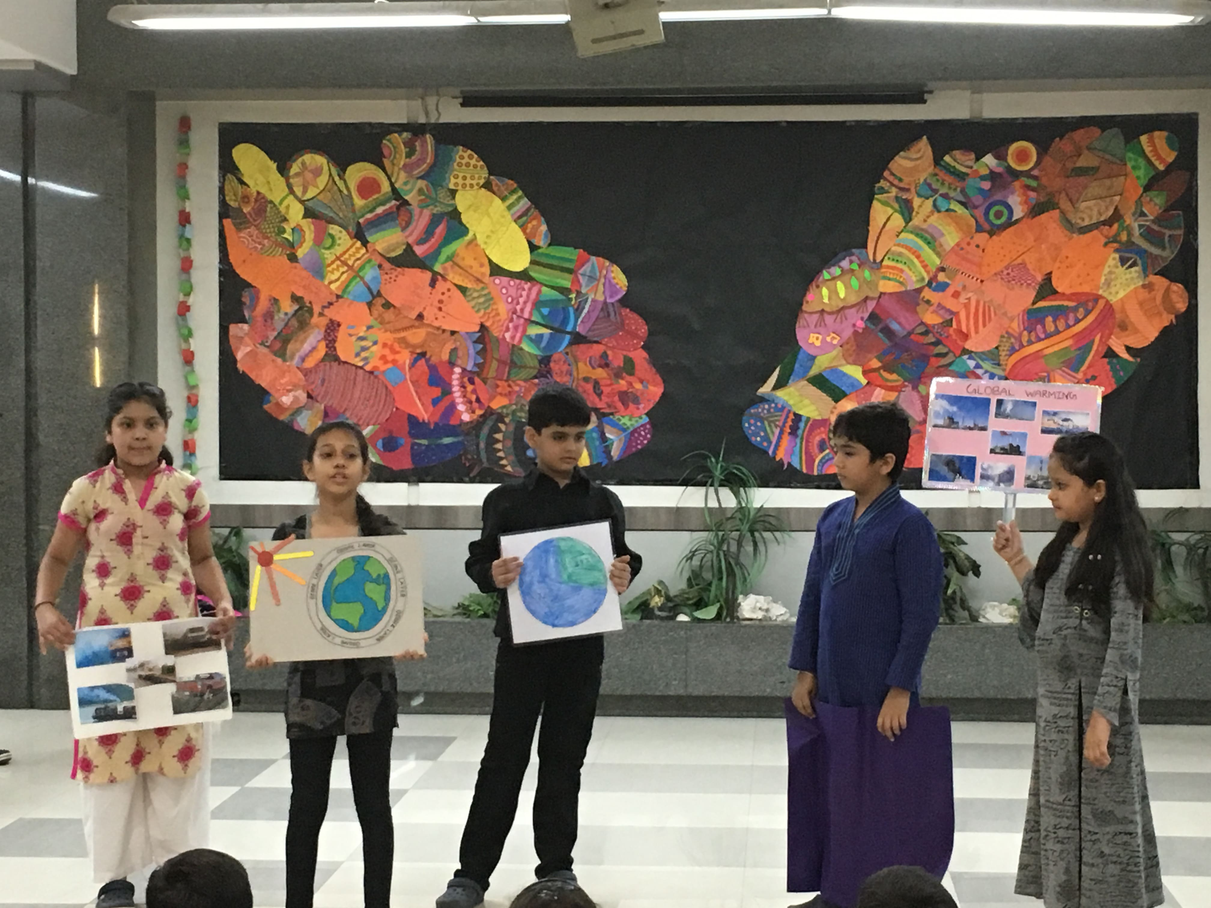 Grade 4B Assembly - Global Warming