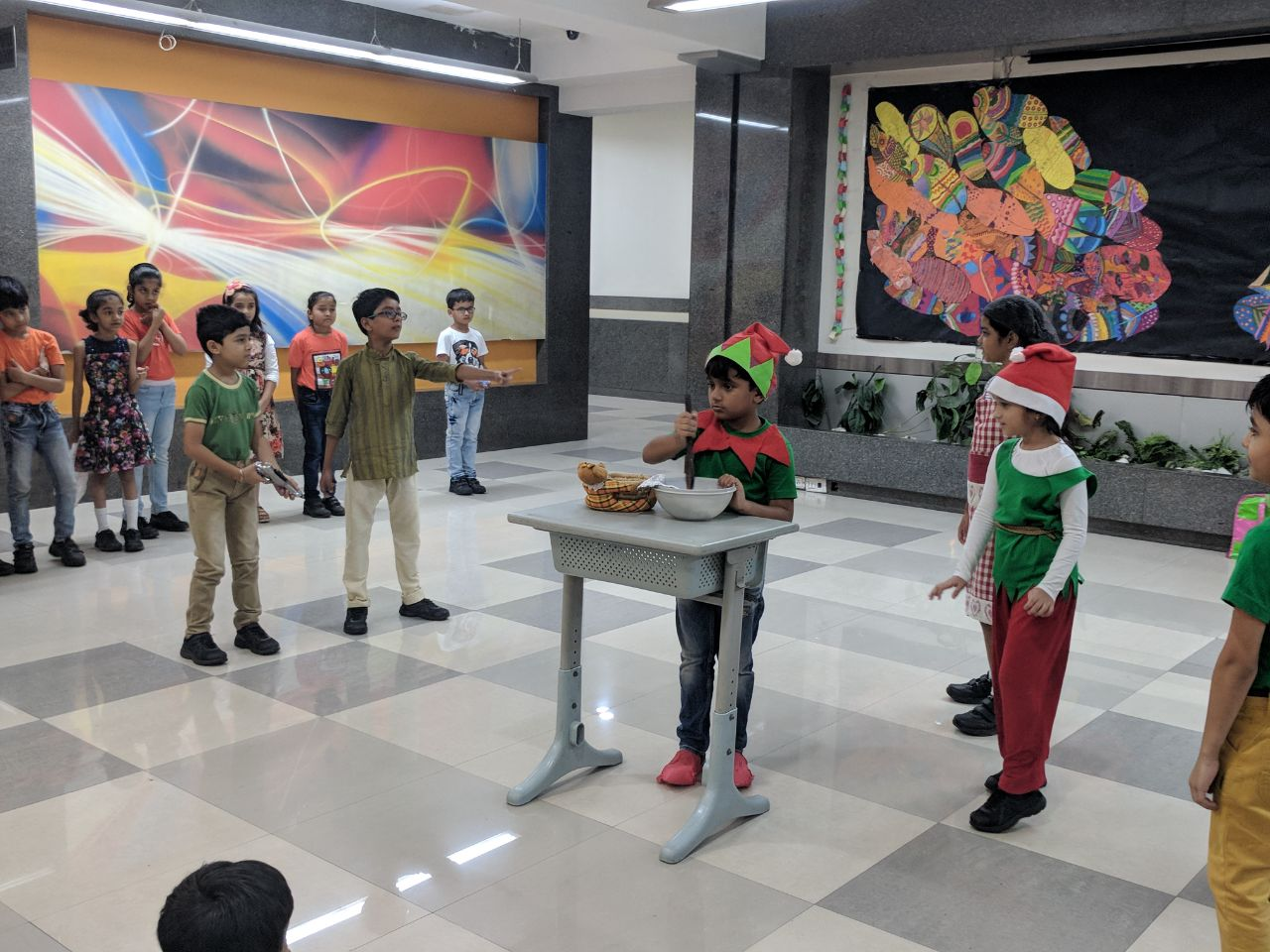 Grade III-B Assembly- A Gingerbread Girl