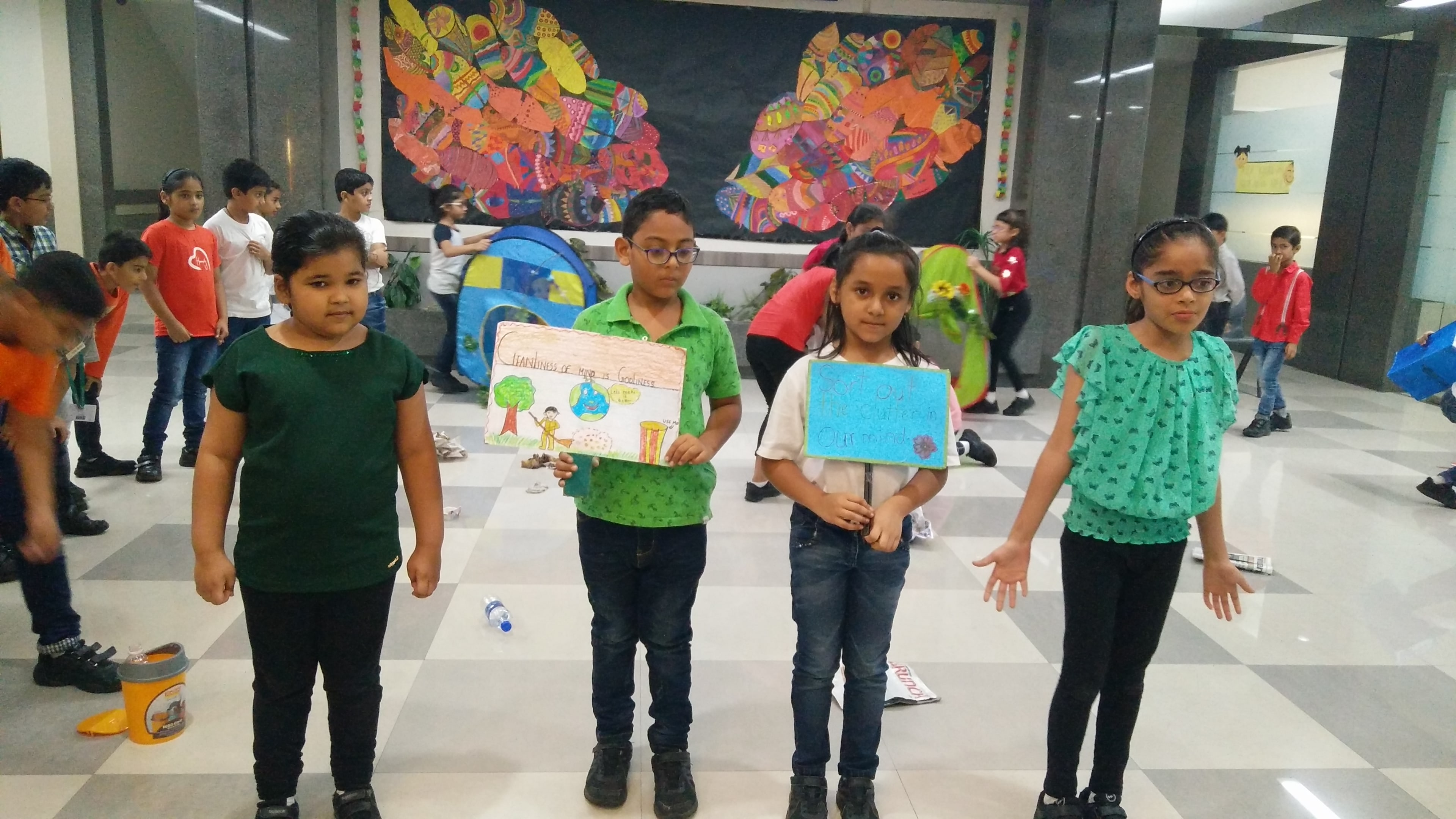 Grade III-A Assembly- Go Green with Life