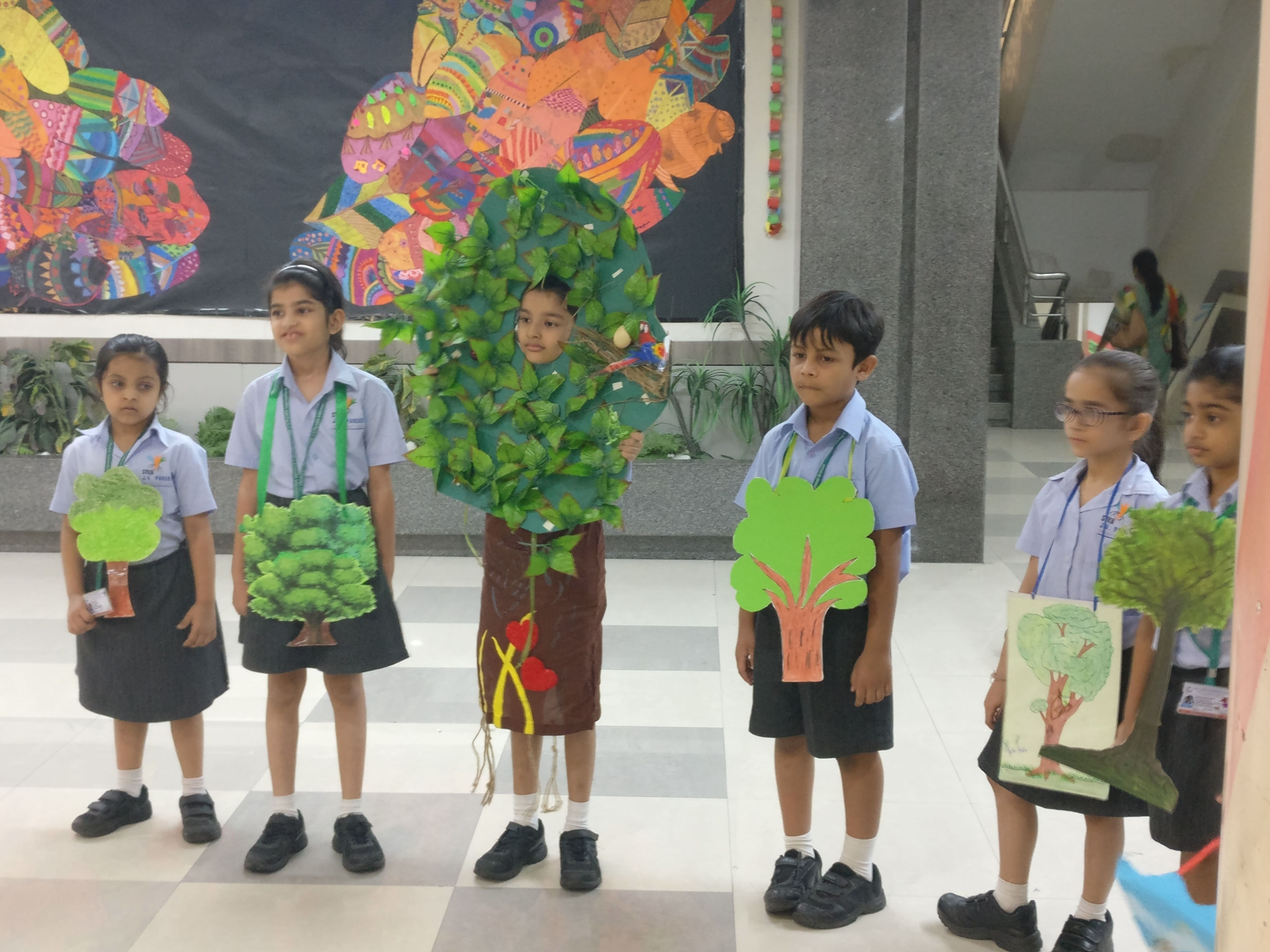 Grade II B Assembly-Protecting Our Environment