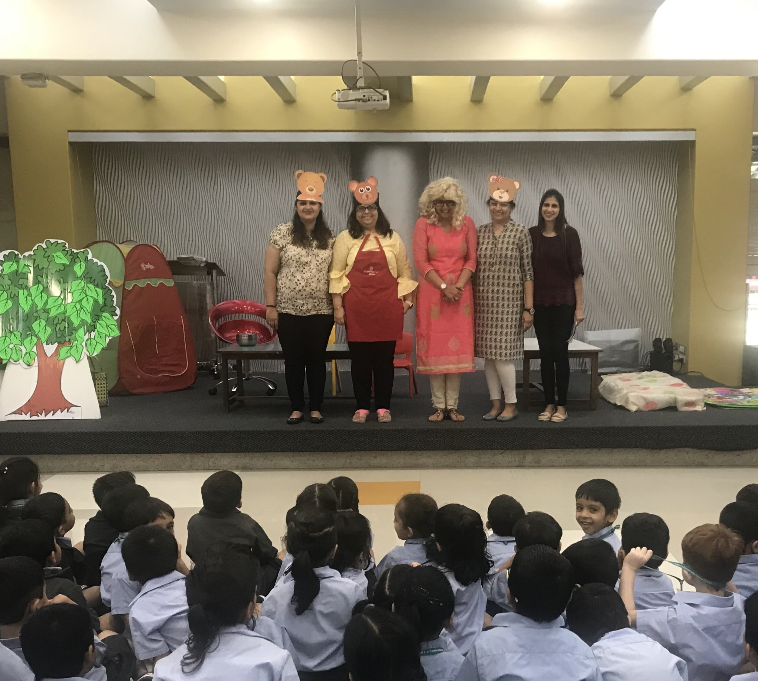 Jr Kg Dramatisation-The Goldilocks and the Three bears