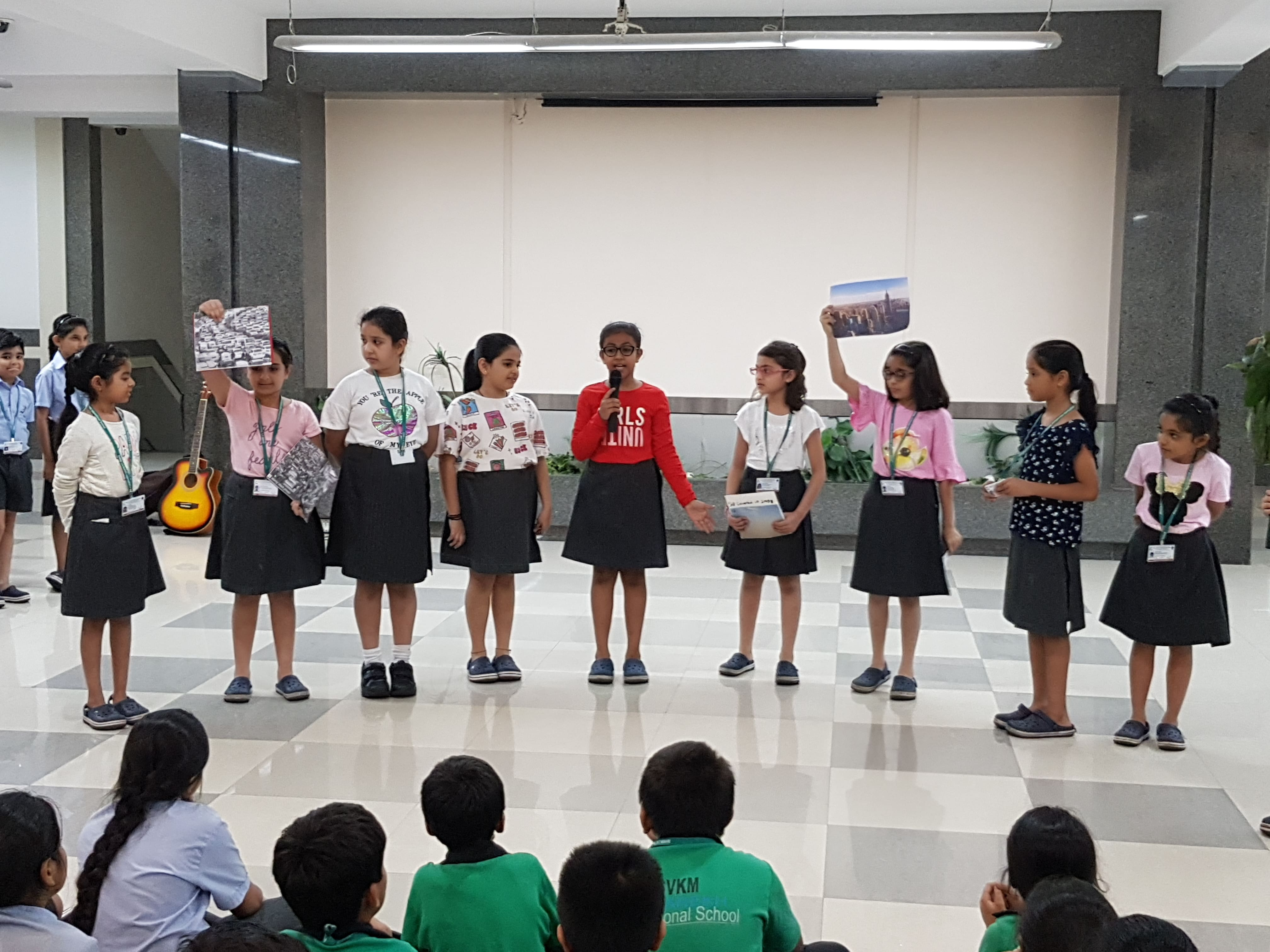 Grade 4B Assembly - Hope to save Earth