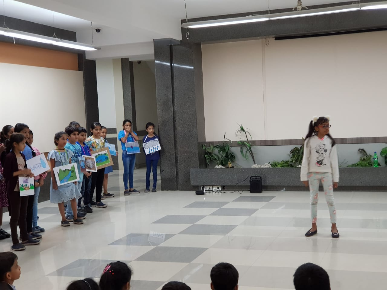 Grade 4A Assembly - Misuse of water and importance of water conservation