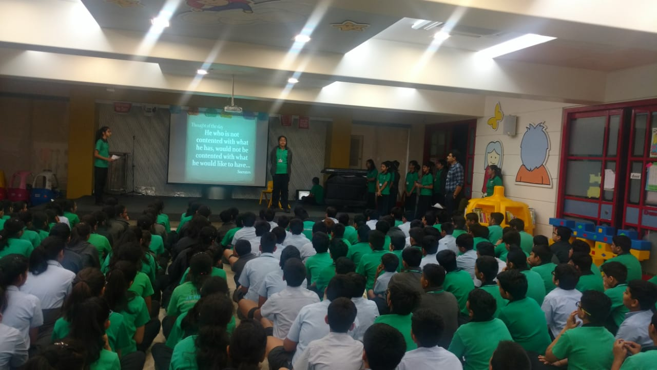 Grade 7B Special Assembly - Greed