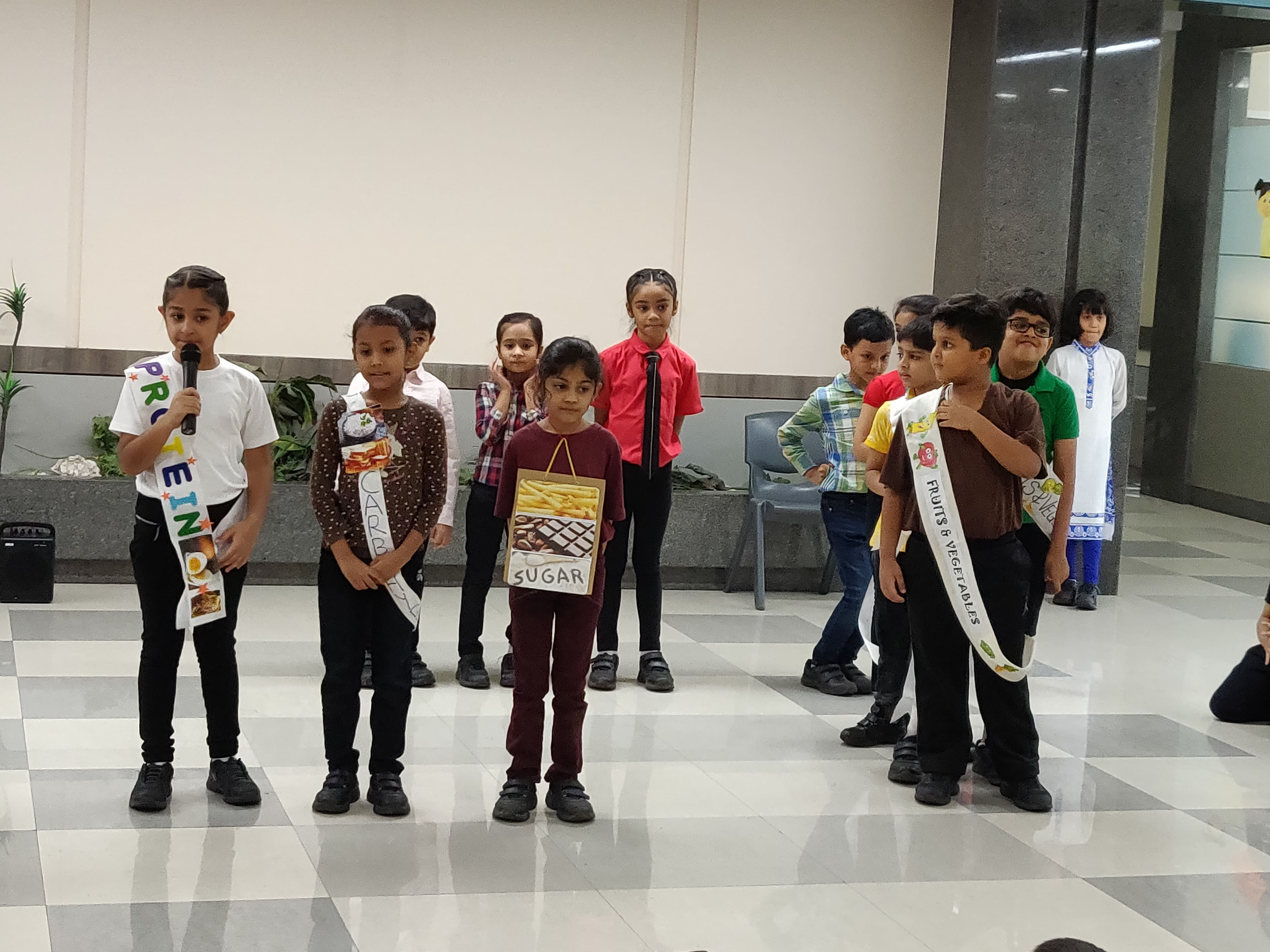 Grade 2B Assembly - Eating a Balanced Diet