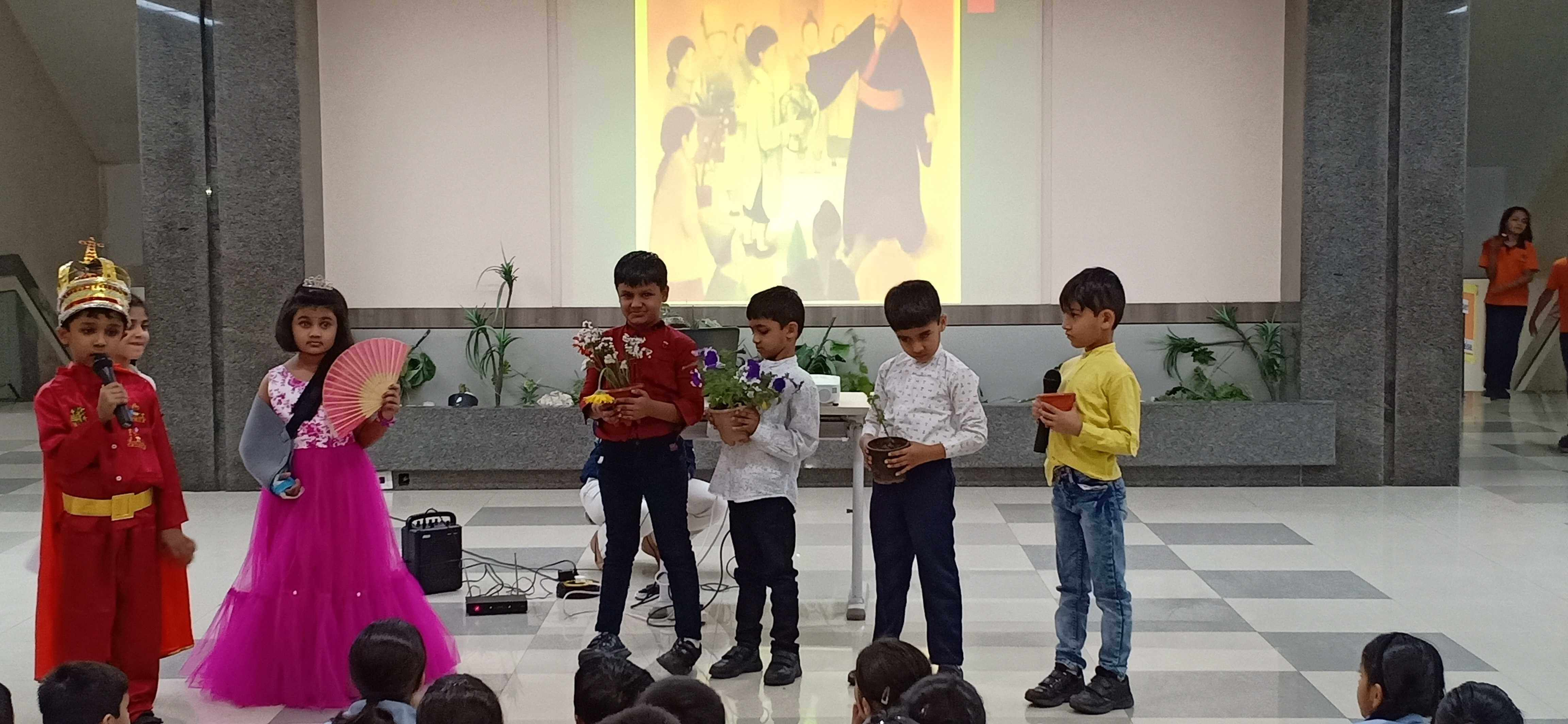 Grade 1D Assembly - Chinese Folklore,