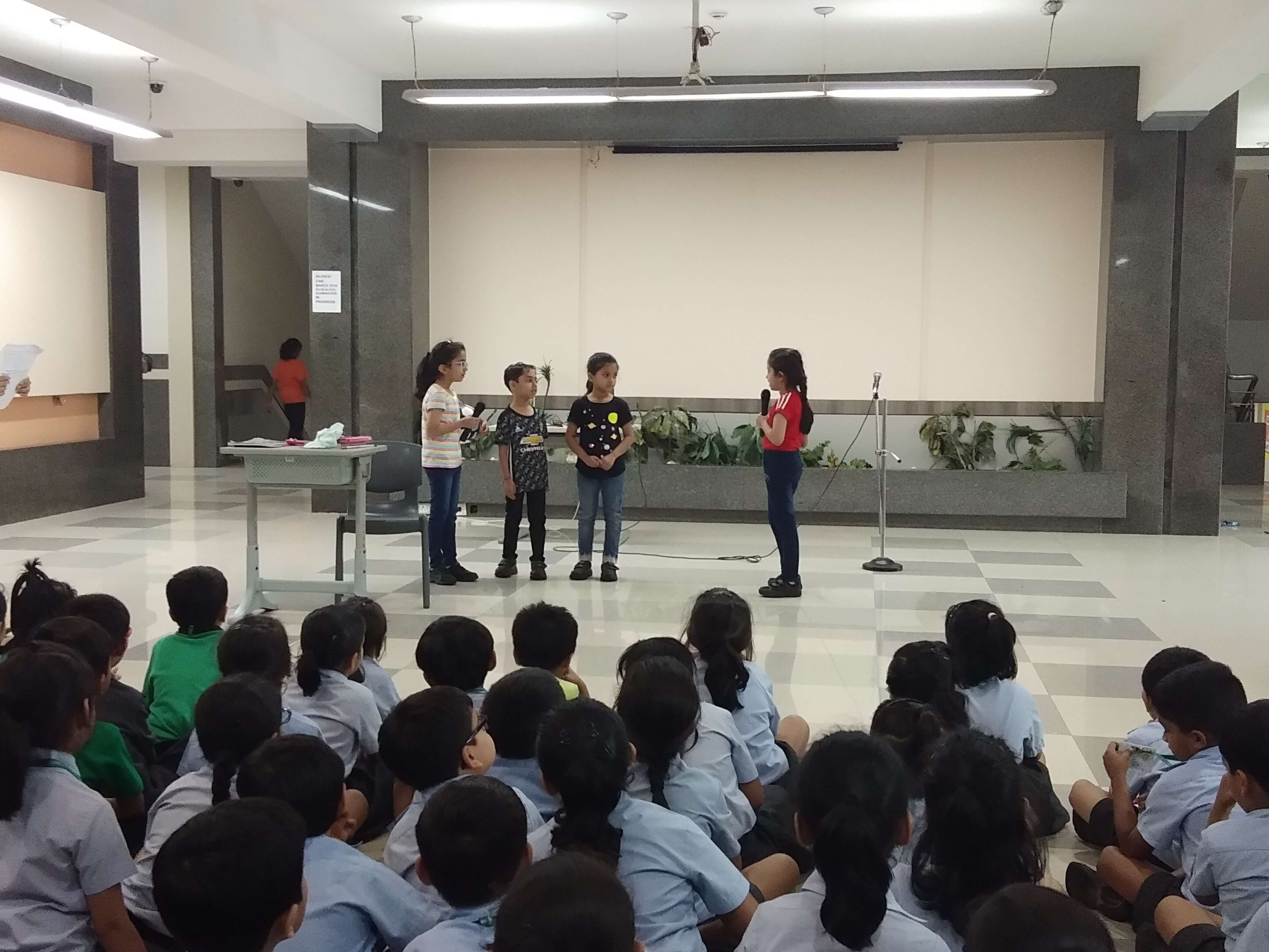 Grade 1C Assembly- Responsibility