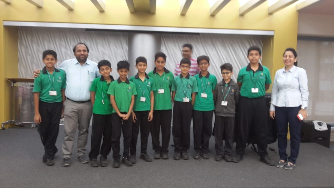 Under 12 football team – secured silver medal