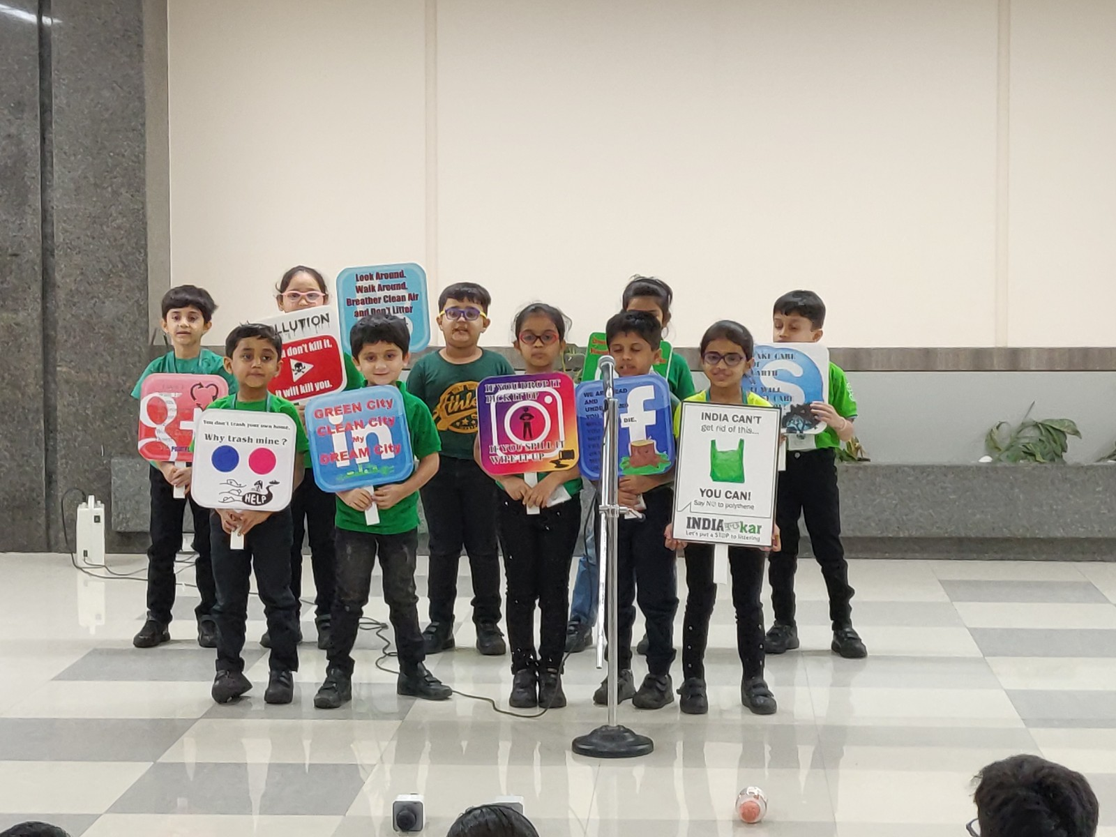 Grade 1B Assembly- Reduce-Reuse-Recycle