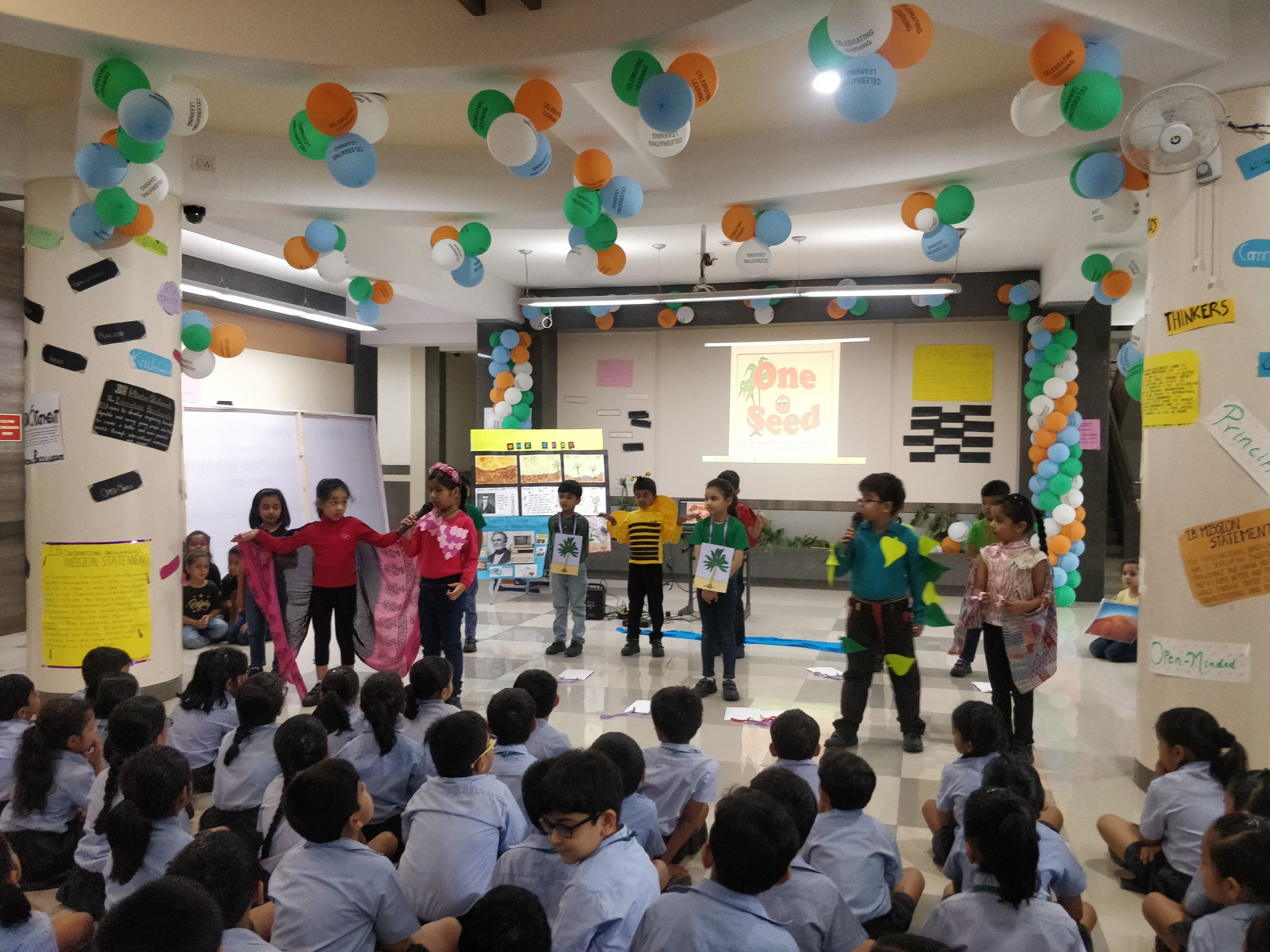 Grade 1A Assembly- One Seed