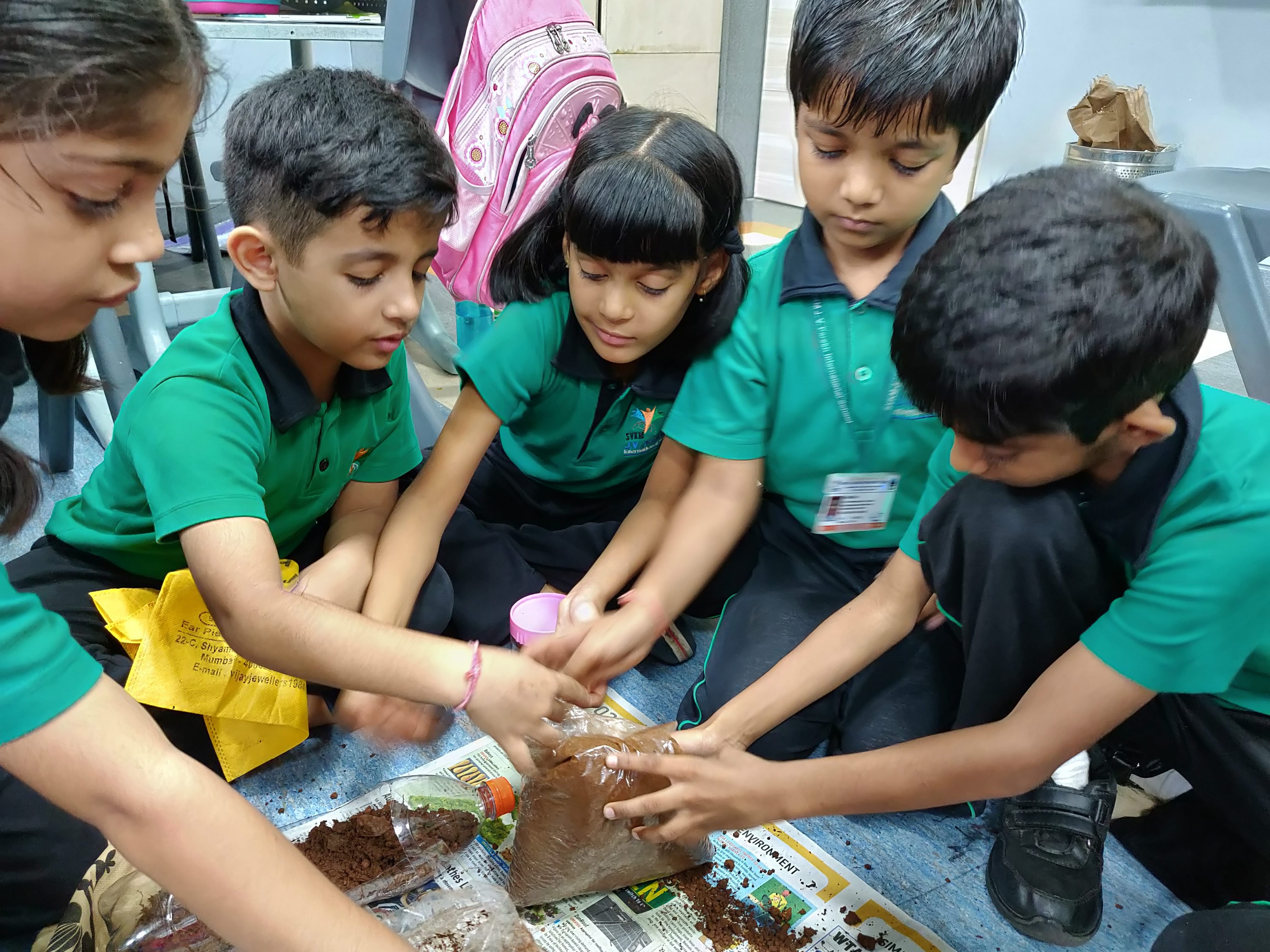 Grade 2 - Creating green space