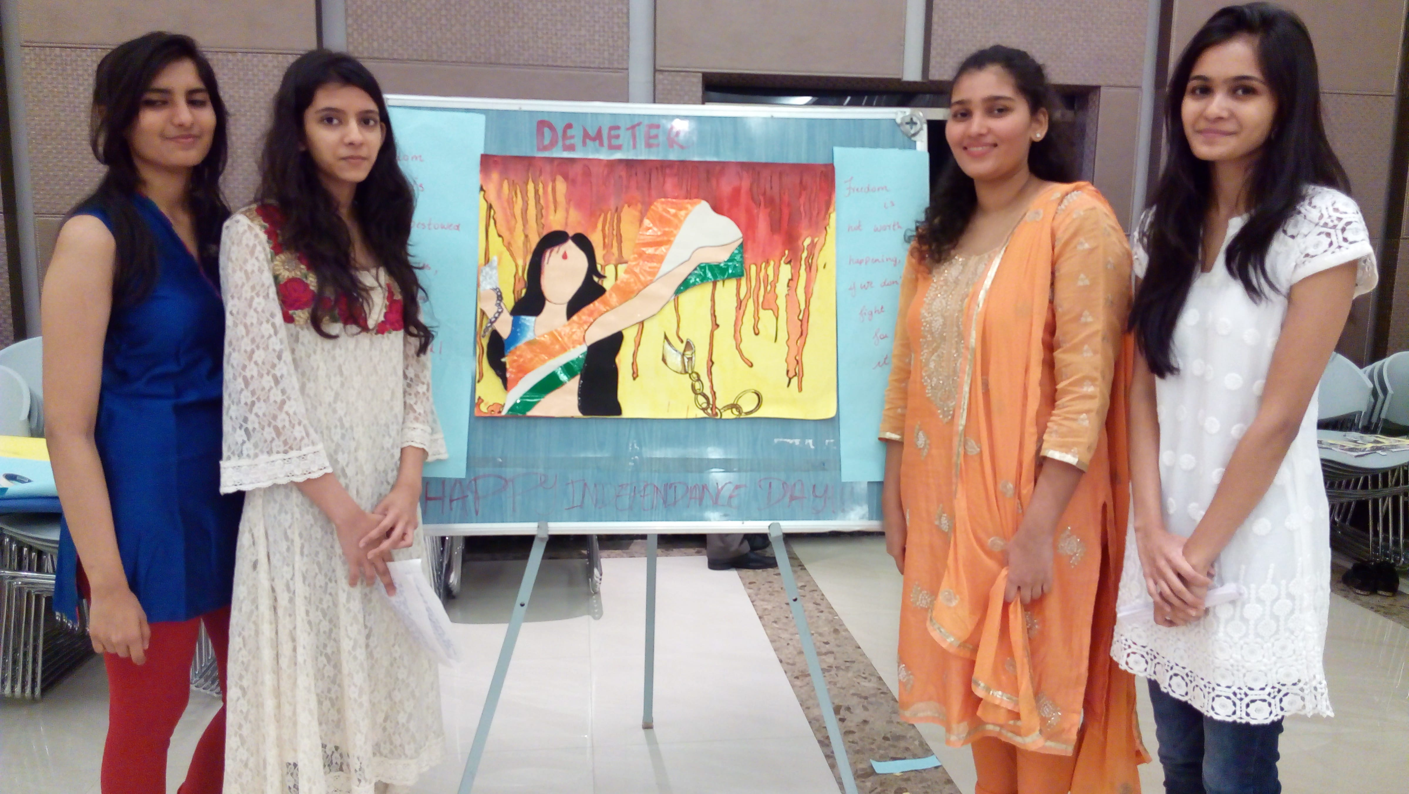Poster making competition 2015