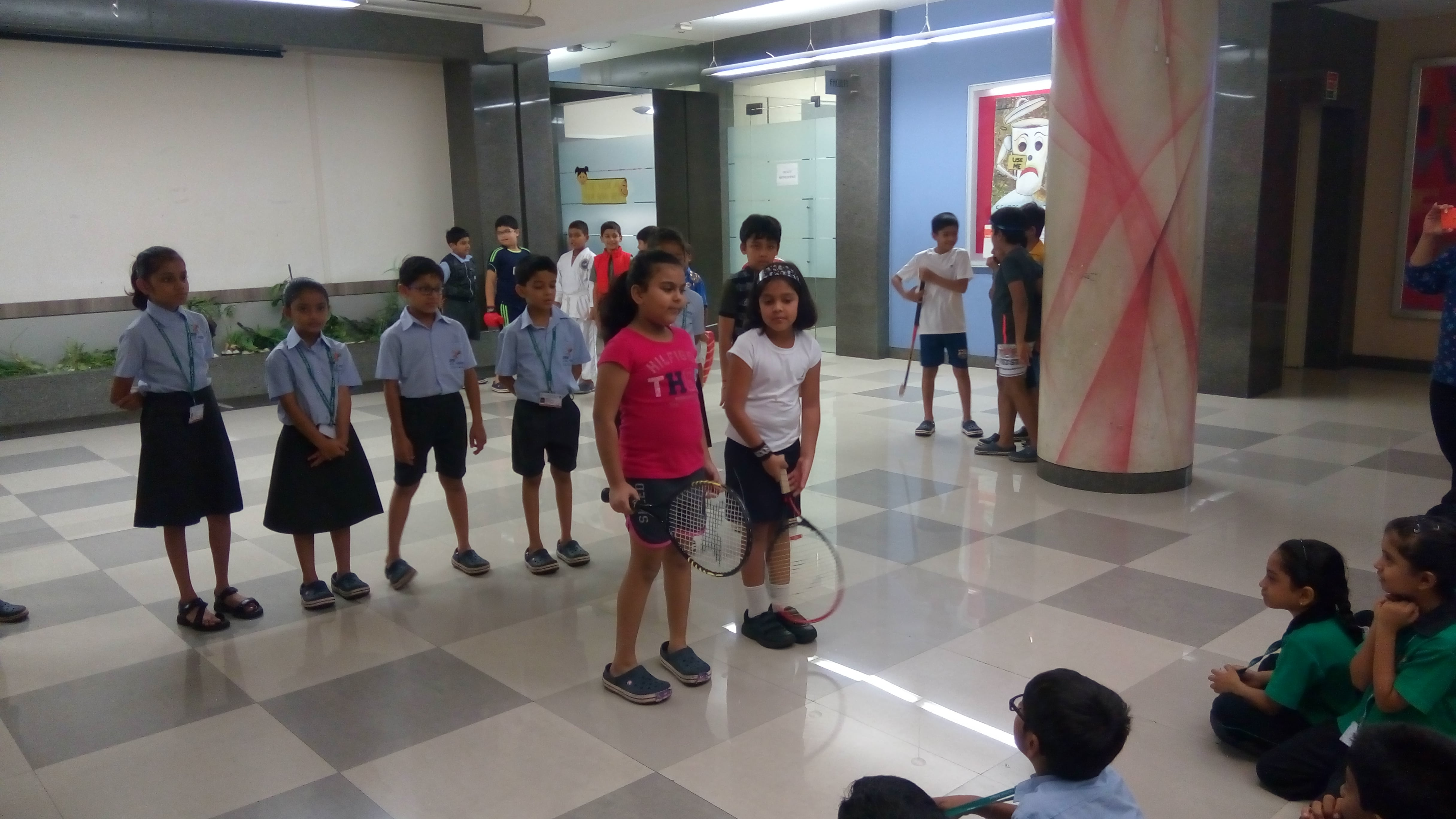 Grade 4C Assembly - India in Olympics