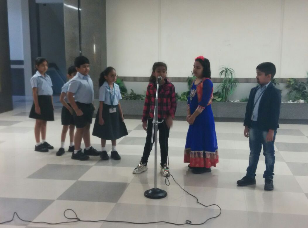 Grade 2B Assembly-Global Warming