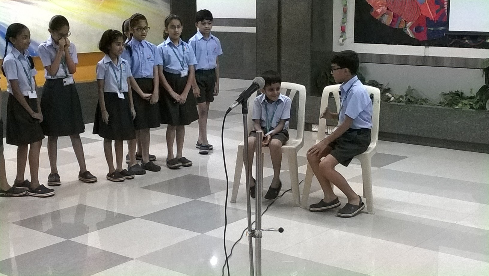 Grade 4C Assembly - Joy of Giving