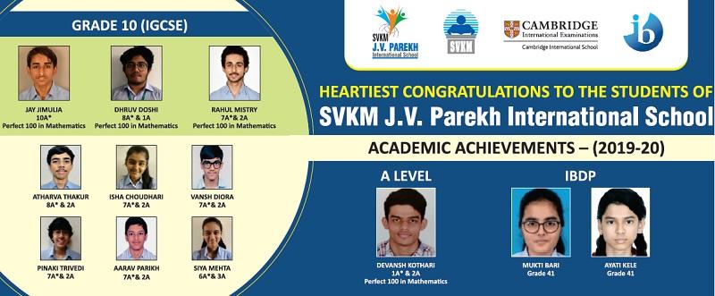 Academic Achievements 2019-20